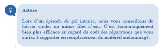 Astuce grand froid